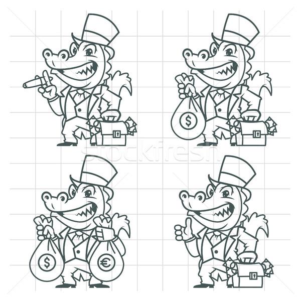 7869484_stock-vector-crocodile-millionaire-banker-doodle
