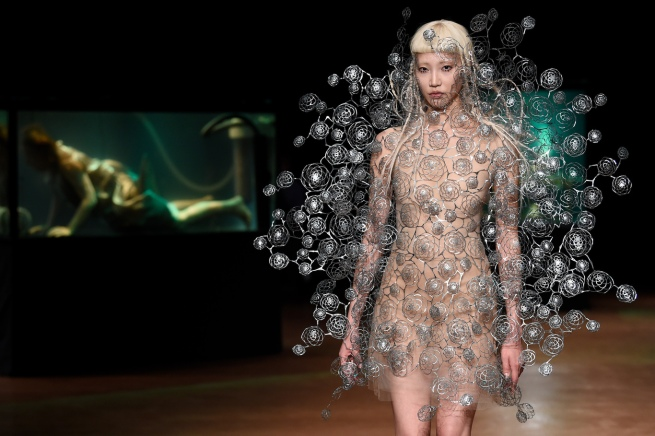 Iris Van Herpen show, Runway, Fall Winter 2017, Haute Couture Fashion Week, Paris, France - 03 Jul 2017